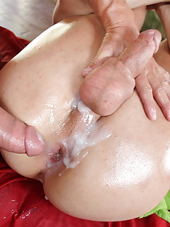 gay porn creampies Natural Teen Beauty Creampied By Bi Cream pie gay porn.